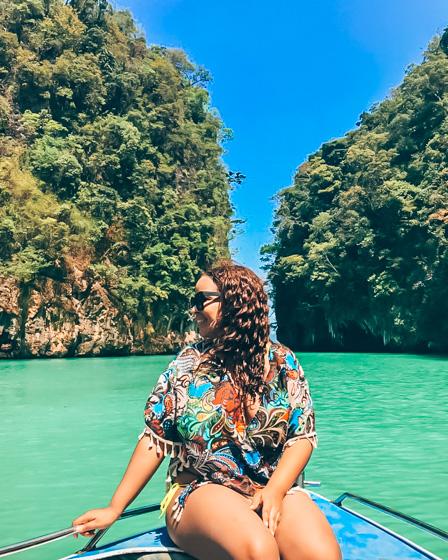 Johanna in Hong Island