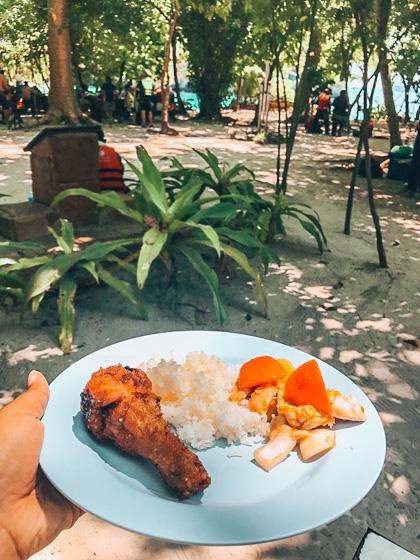 Visit Hong Island food