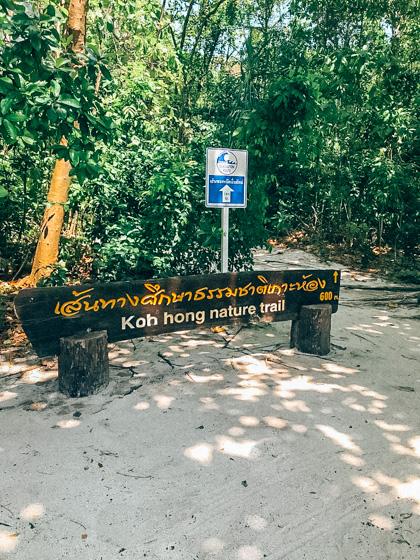Koh Hong nature trail