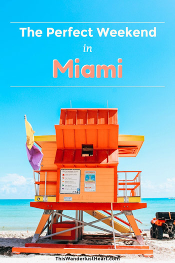 Planning a weekend trip to Miami? This travel guide gives you tips on where to stay, what to do and where to eat for the perfect weekend in Miami,