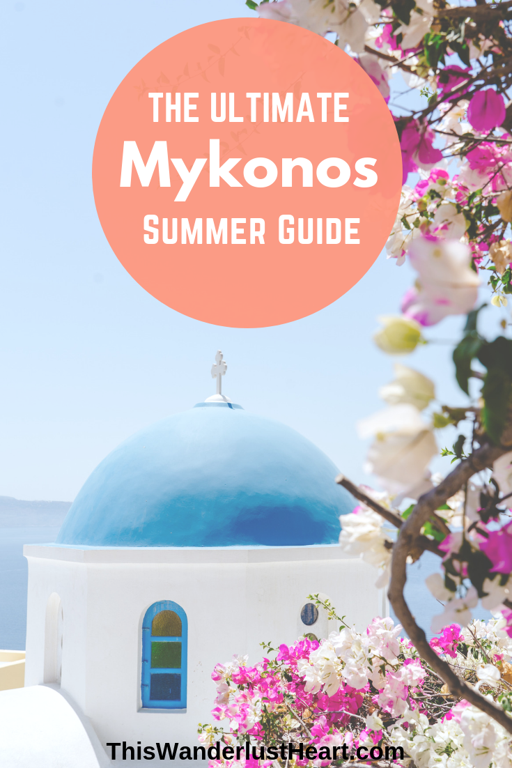 Here you'll find the best things to do in Mykonos Greece! This Mykonos travel guide is filled with tips on beaches, parties to help you plan an incredible Mykonos trip! #mykonos #greece