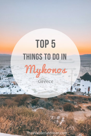 Mykonos is a bucket list destination. This Mykonos travel guide is filled with travel tips for top things to do in Mykonos.