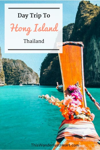 Hong Island in Thailand. It is no wonder that many people consider it one of the most beautiful island in the region.