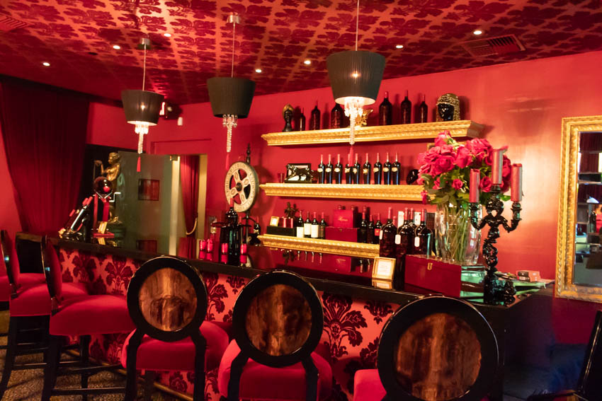 Red Room in Raymond Vineyards