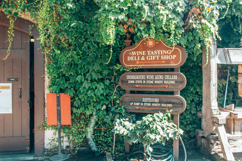 V. Sattui Winery WIne Tasting