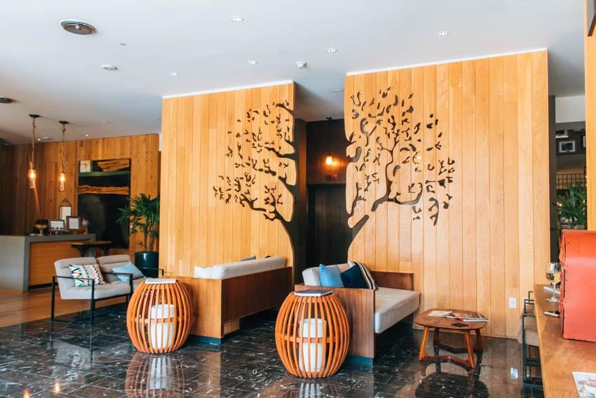 Andaz Napa Hotel lobby