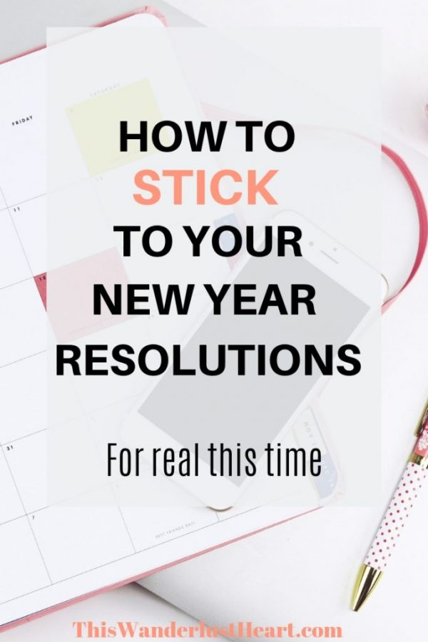 new year resolutions and goals