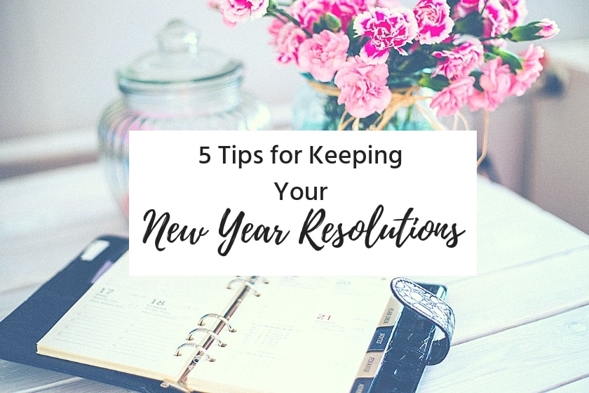 how to keep your new year resolution